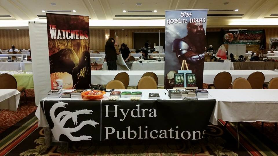 The Hydra Publications booth at Imaginarium.