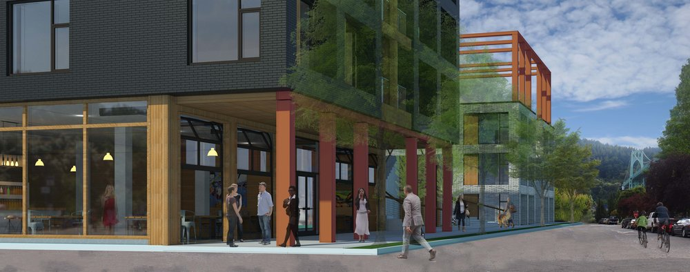 North Portland Mixed-Use Concept