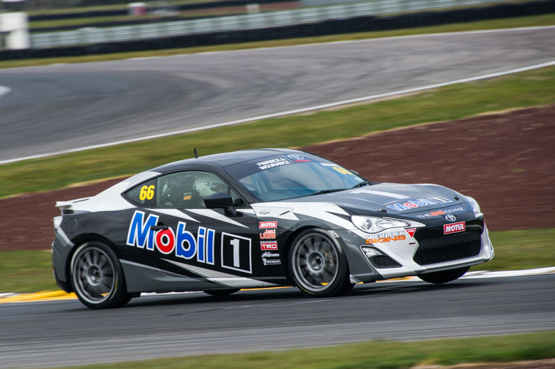 Mobil sponsored driver, Ash Blewett, returning driver from last year with his jazzed up livery