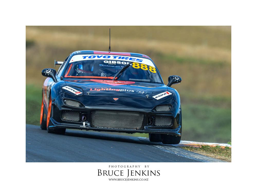 Matt Gibson, Mazda Pro 7. Matt is now racing a Toyota in the Toyota Finance 86 series
