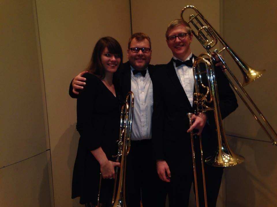 Butler Symphony Trombones 2013-2014