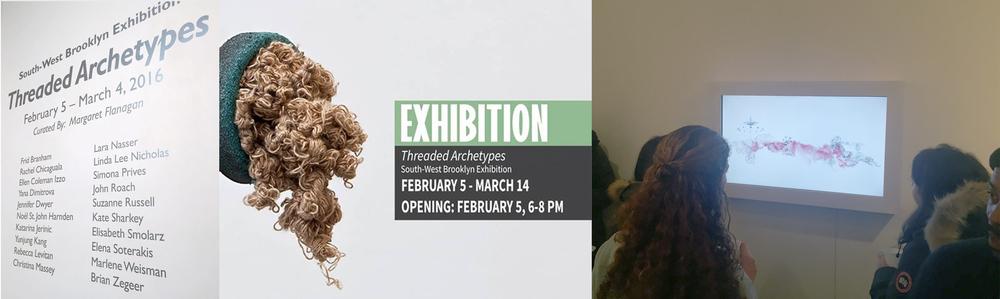 Threaded Archetypes Exhibition