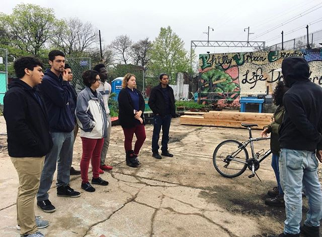 Just last week, students took a class on urban agriculture and were given the opportunity to visit an organic farm run by the Philly Urban Creators. Inspired by the visit, a couple of our students can't wait to start their own garden!