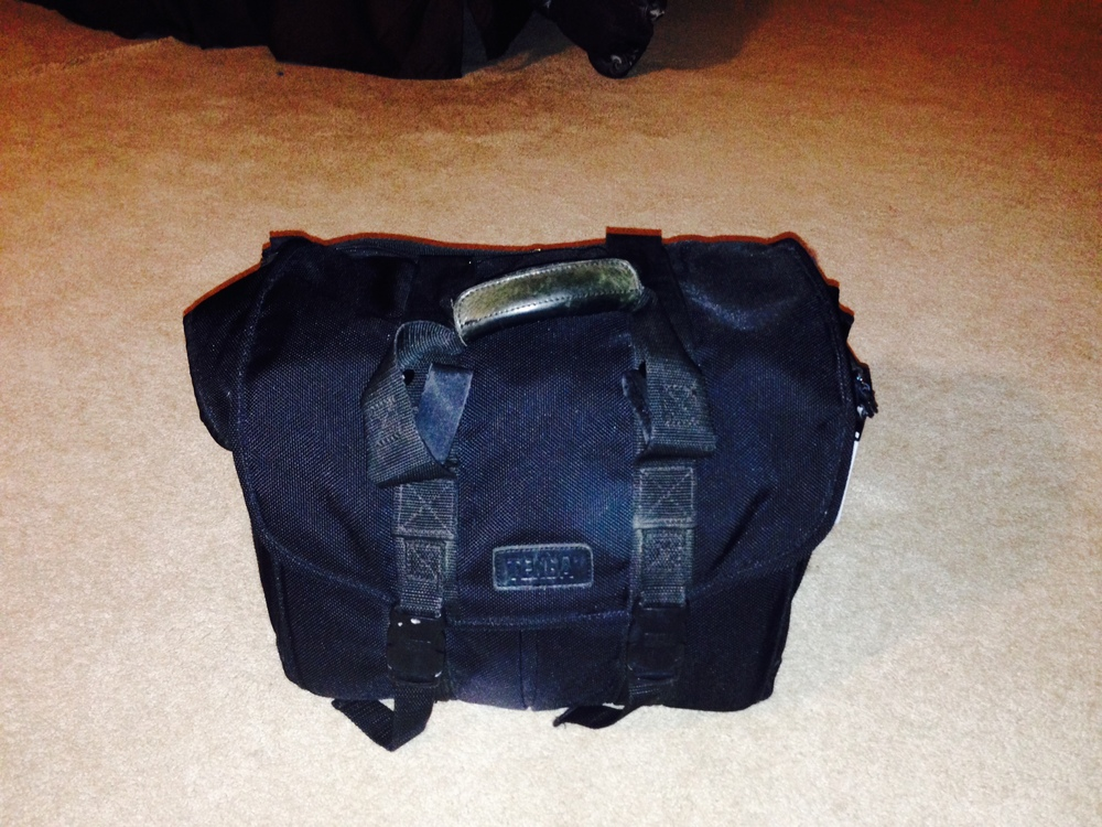 The Tenba bag that has worked for a 3 day business trip!!