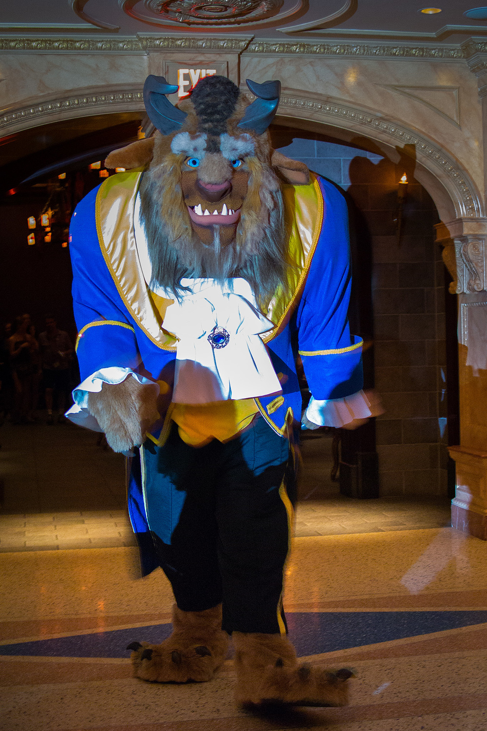 "Popular dining spots like ""Be Our Guest"" in Beast's Castle at Magic Kingdom, are a hot ticket, booked well in advance.  There may be no way to score a table without months of planning, but the hotel concierge can check for same day cancellations for you!"