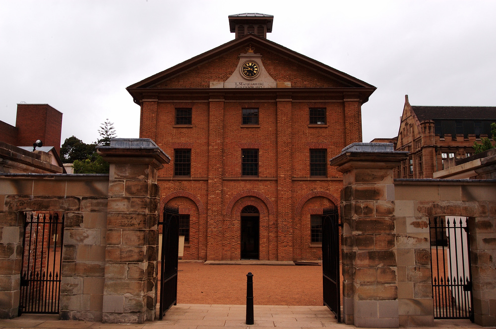 Francis Greenway designed building built to house convicts