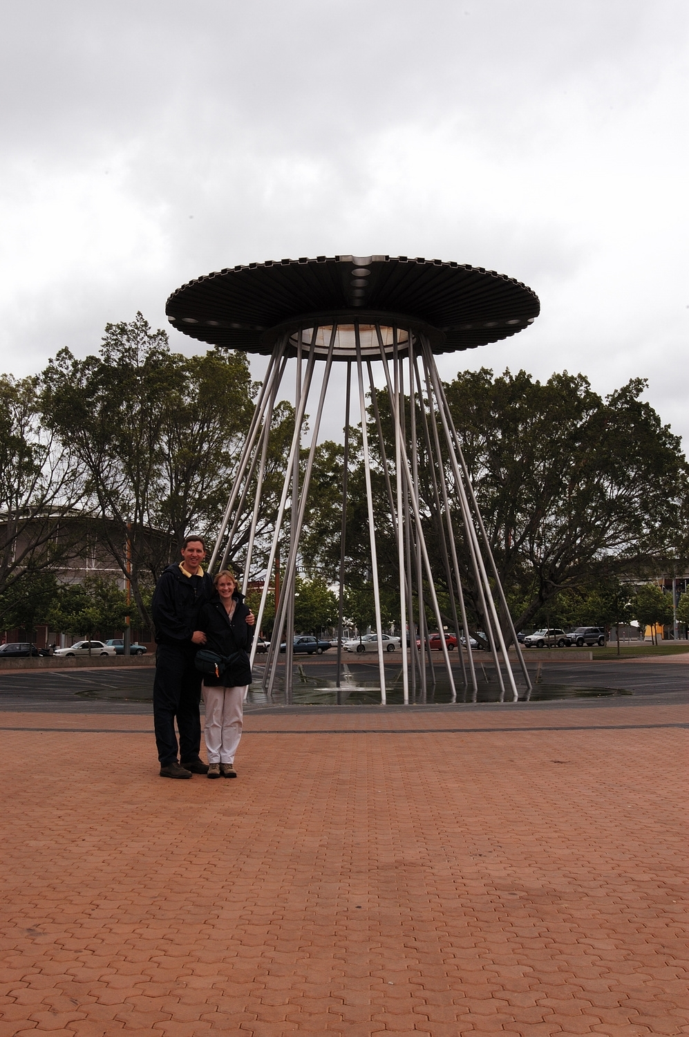 Sydney Olympic Park Olympic Cauldron for the Sydney 2000 Olympics in the Cathy Freeman Park