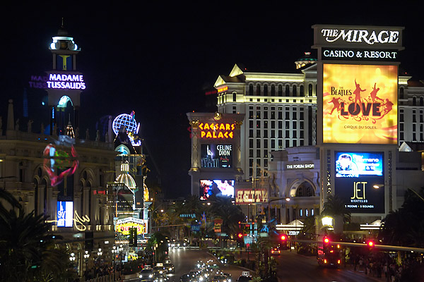 The Strip in Las Vegas is lined with casinos, but what to do if you don't gamble?