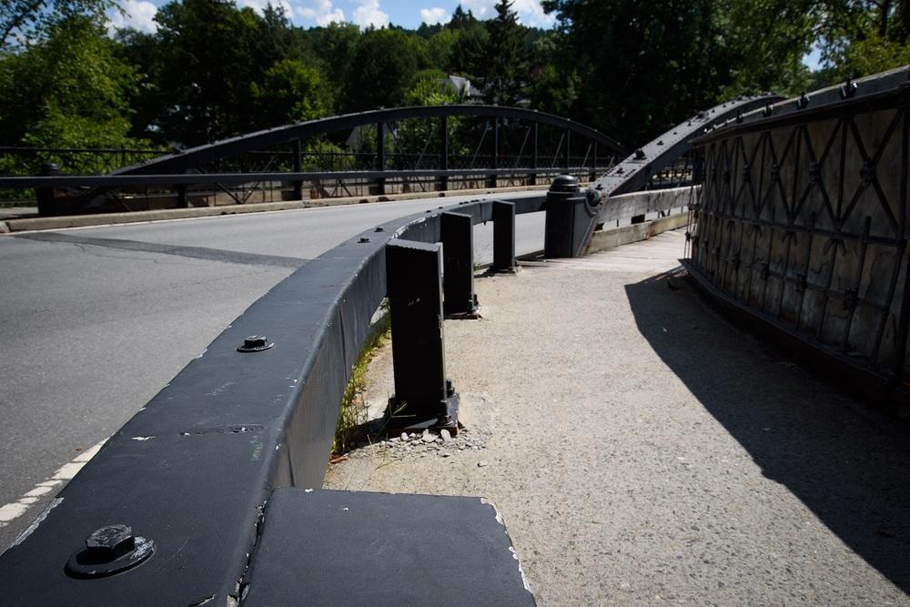 The Iron Bridge on Elm St