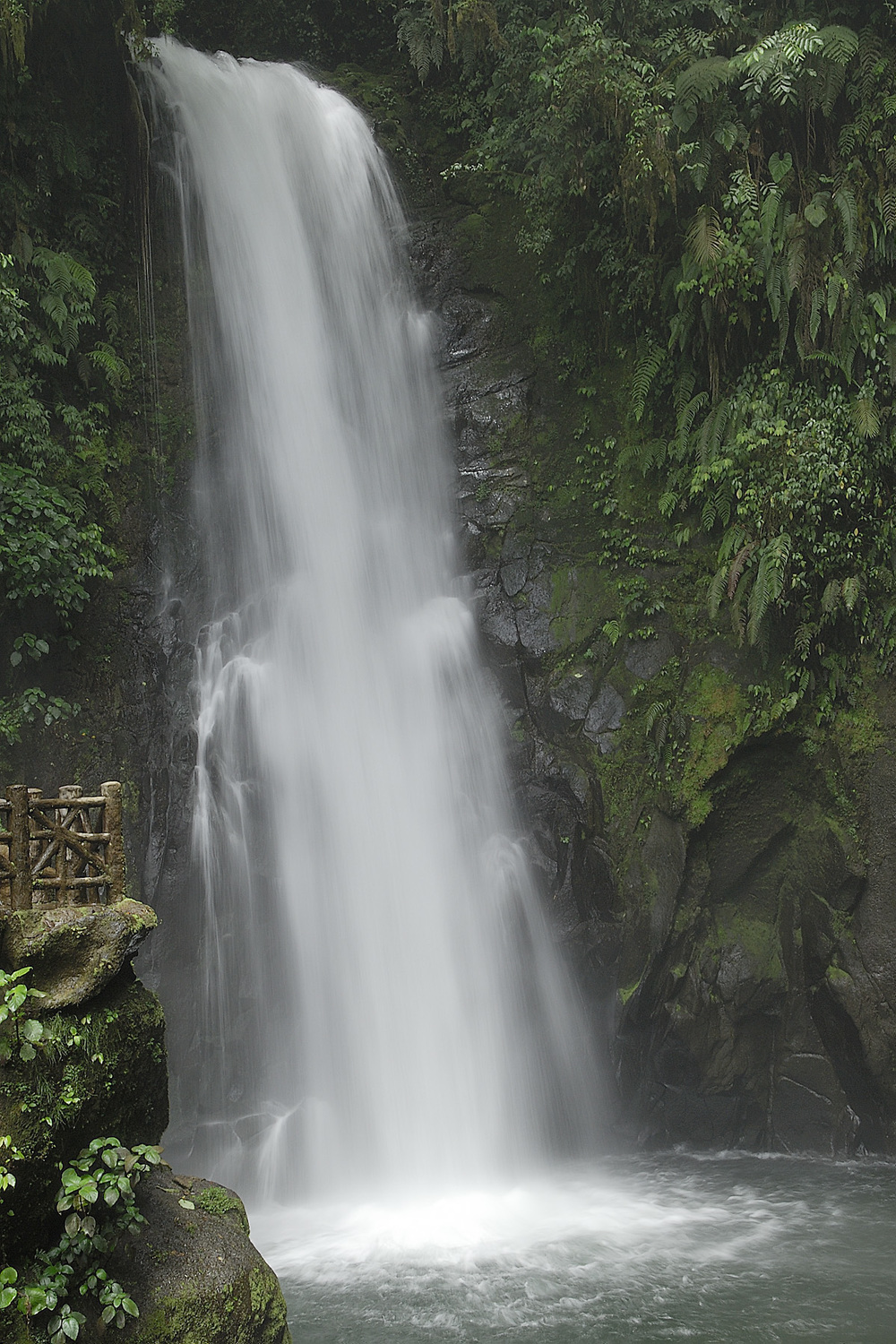 An easy hike led to the waterfalls, which were particularly spectacular during the rainy season!