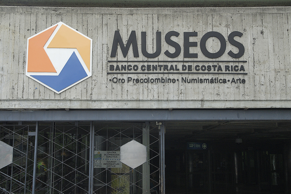 Another stop on our tour, the Museo Del Oro is located underground as part of the national bank.