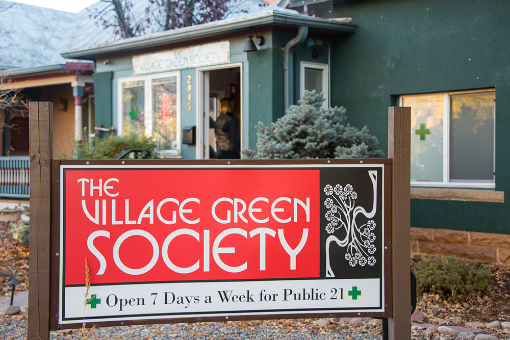 The clerks at the Village Green explained they are a neighborhood shop providing a service to people in their neighborhood.