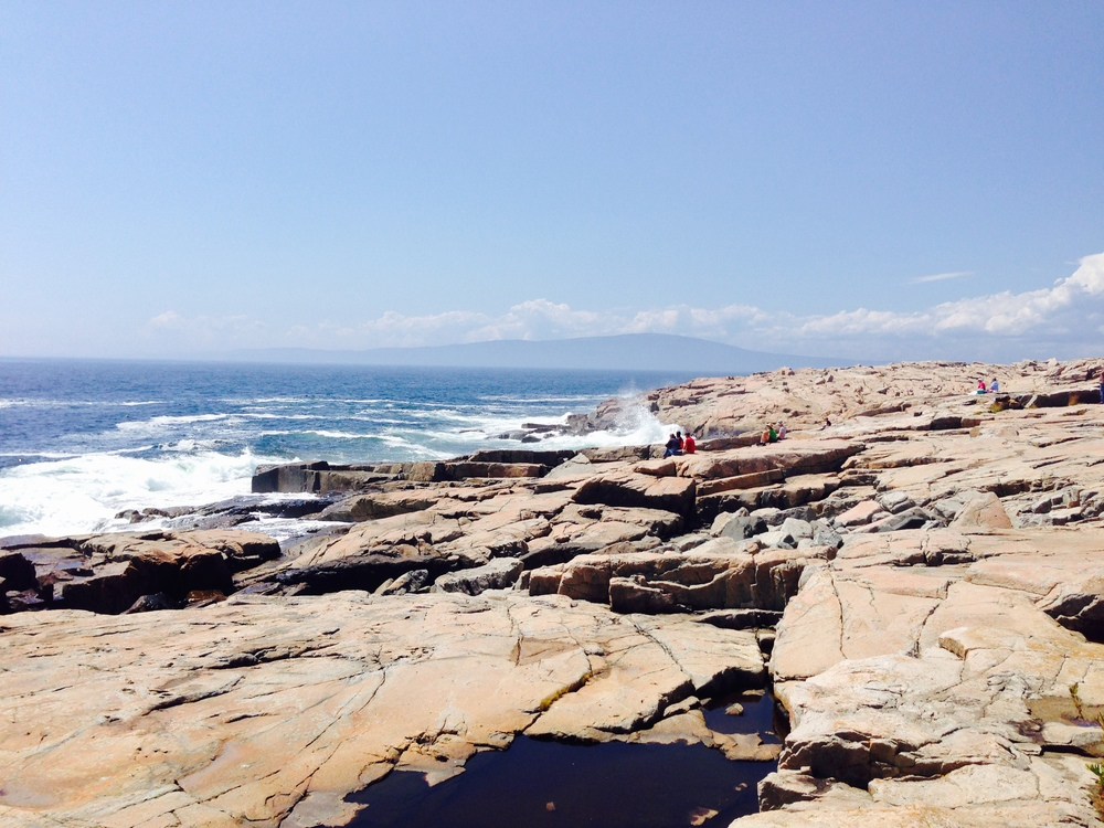 Schoodic Point in Acadia National Park