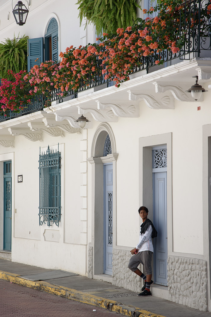 A beautifully renovated building in Casco Viejo