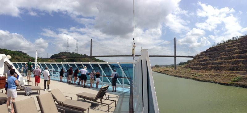 Sun Deck in the Panama Canal
