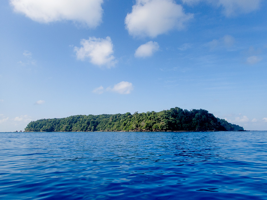 Cano Island in the Pacific