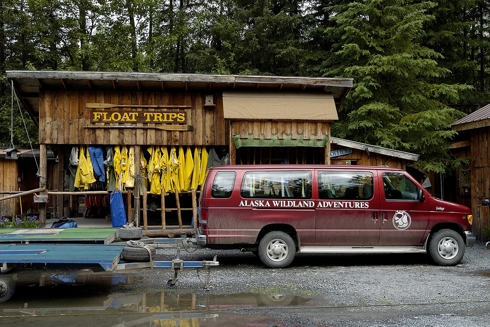 We met at AWA's Kenai Riverside Lodge for our rafting trip down the Kenai river