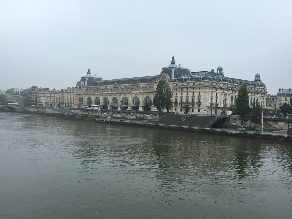 Musee D'Orsay from across the Seine.