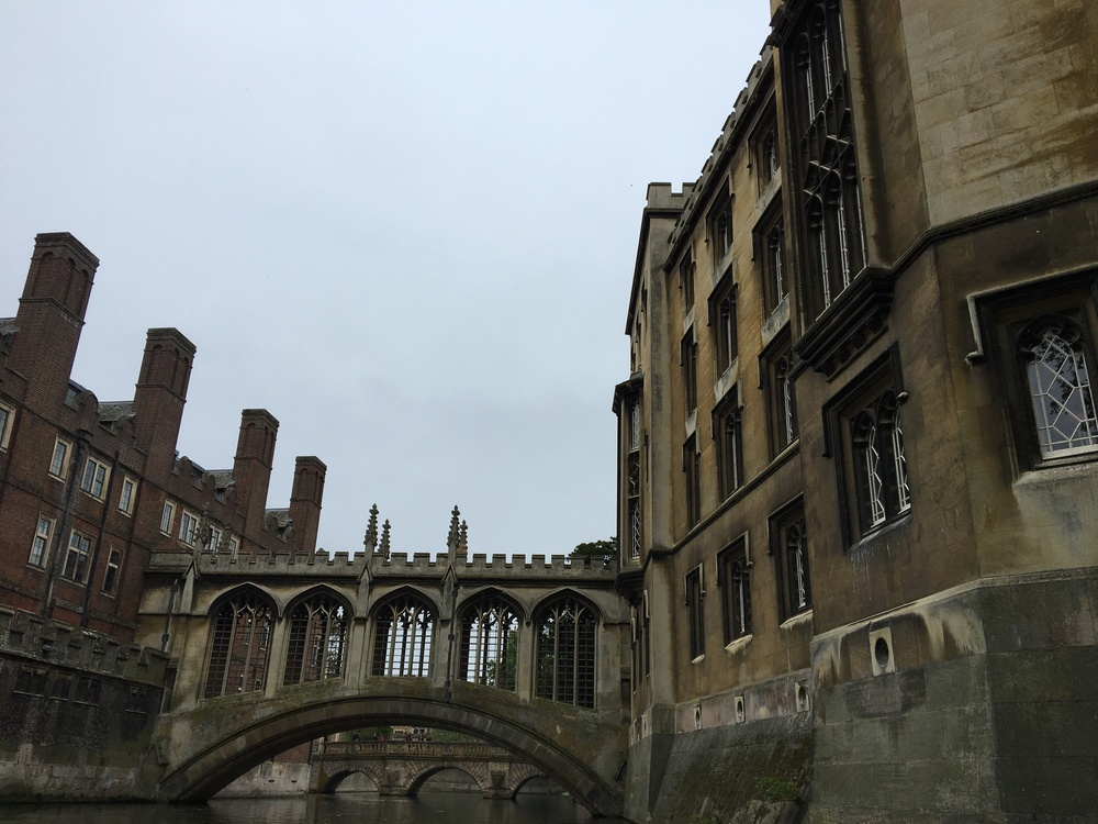 The Bridge of Sighs at St Johns College