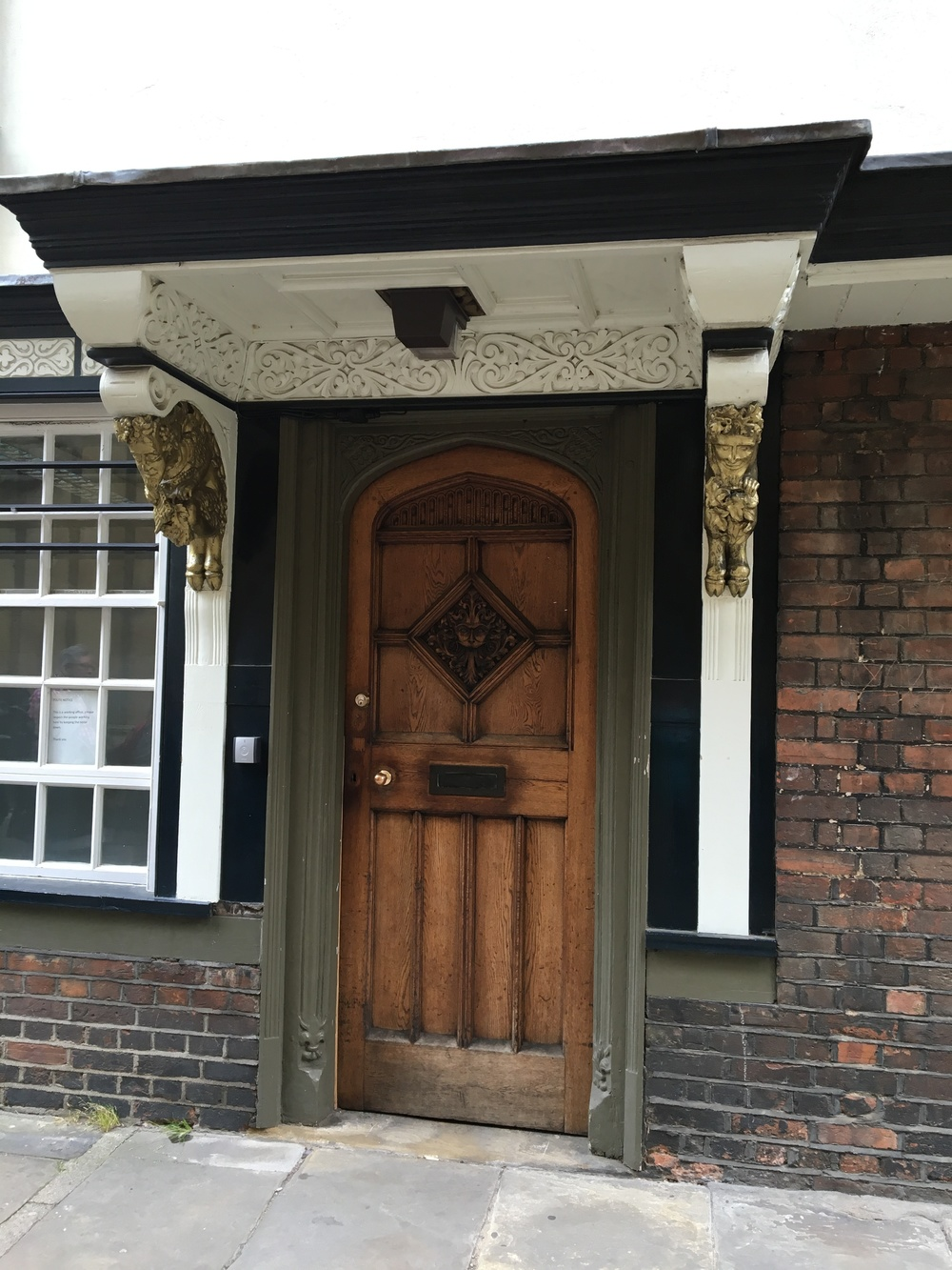 Across from St Mary's is this doorway, known as the Narnia door, with carvings thought to have inspired C.S. Lewis's  The Lion, the Witch and the Wardrobe.