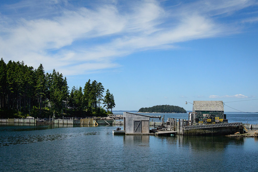 Every road leads to another scenic spot in Stonington, and ends at the water, making it almost impossible to get lost!
