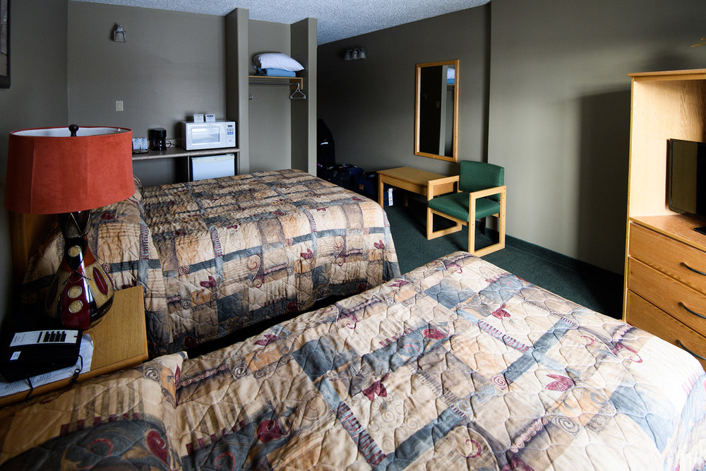The Seaport Hotel is a modest but comfortable base for touring in Churchill.