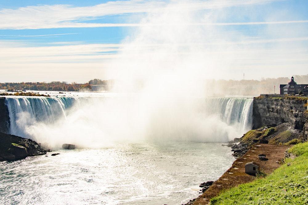 Horse Shoe Falls in Ontario Canada