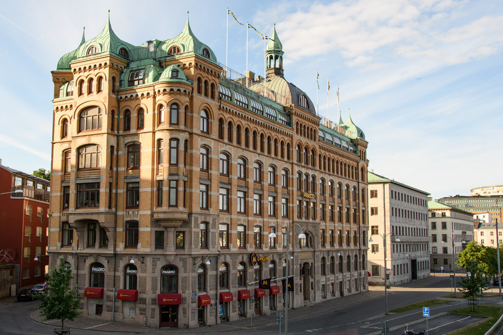 Historic building in Gothenburg