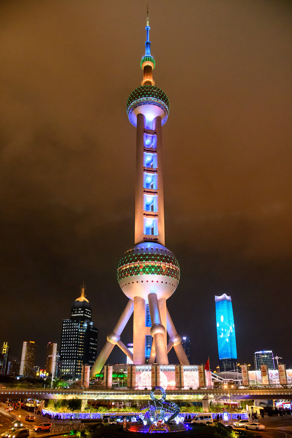 Shanghai Pearl at Night