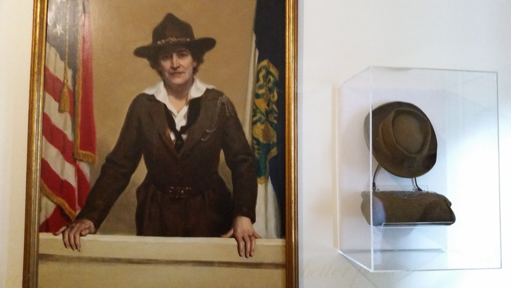 Juliette Gordon Low was born in Savannah, raised there during the Civil War siege and went on to found the Girl Scouts of the USA