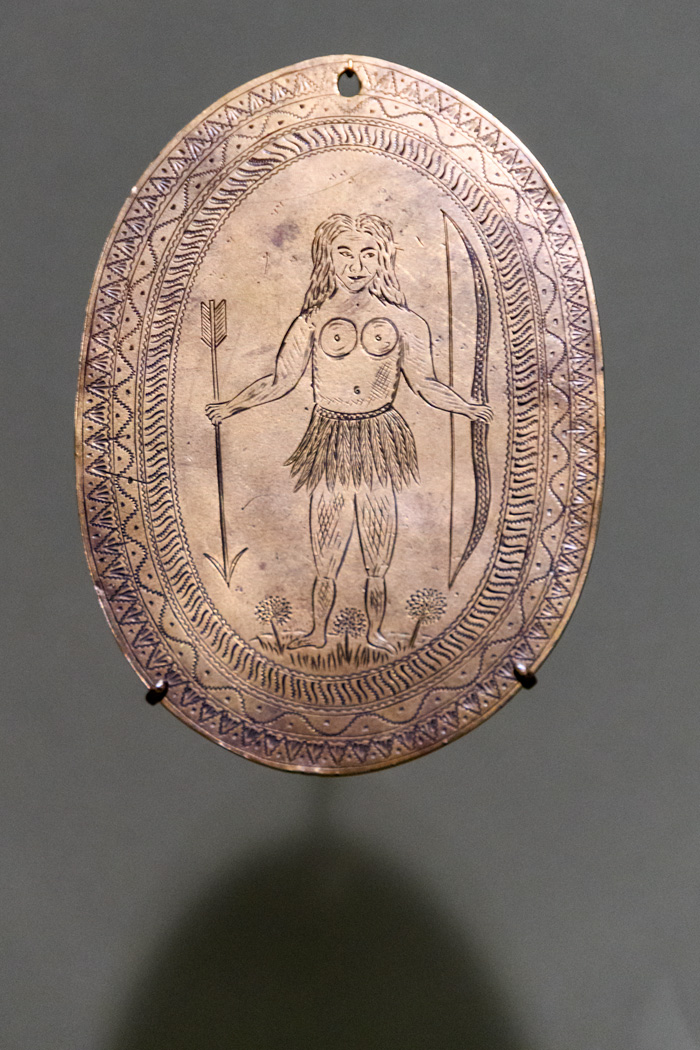The Peace Medal from the King Phillips War
