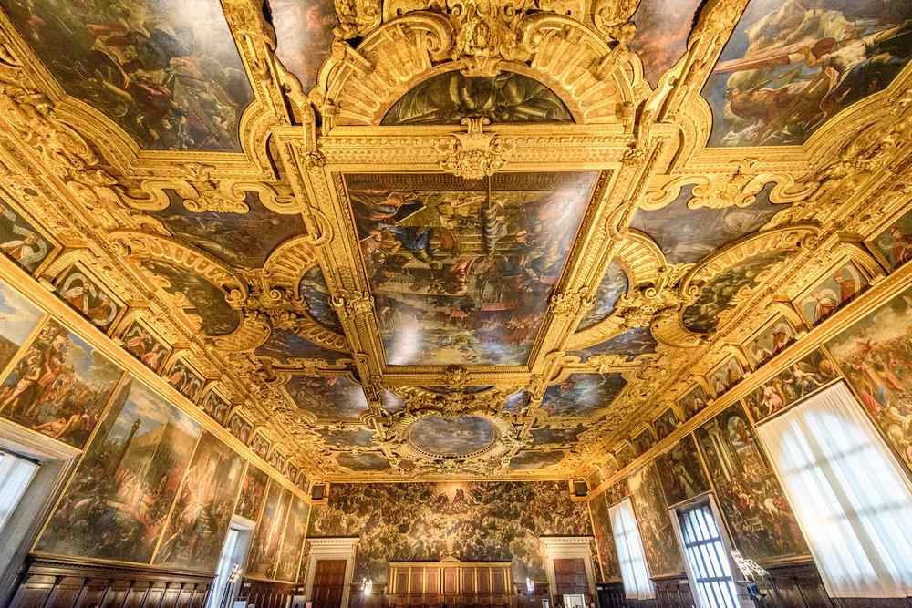 Sala del Maggior Consiglio/ Great Council room