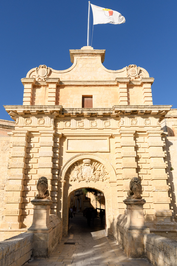 Entrance to Mdina