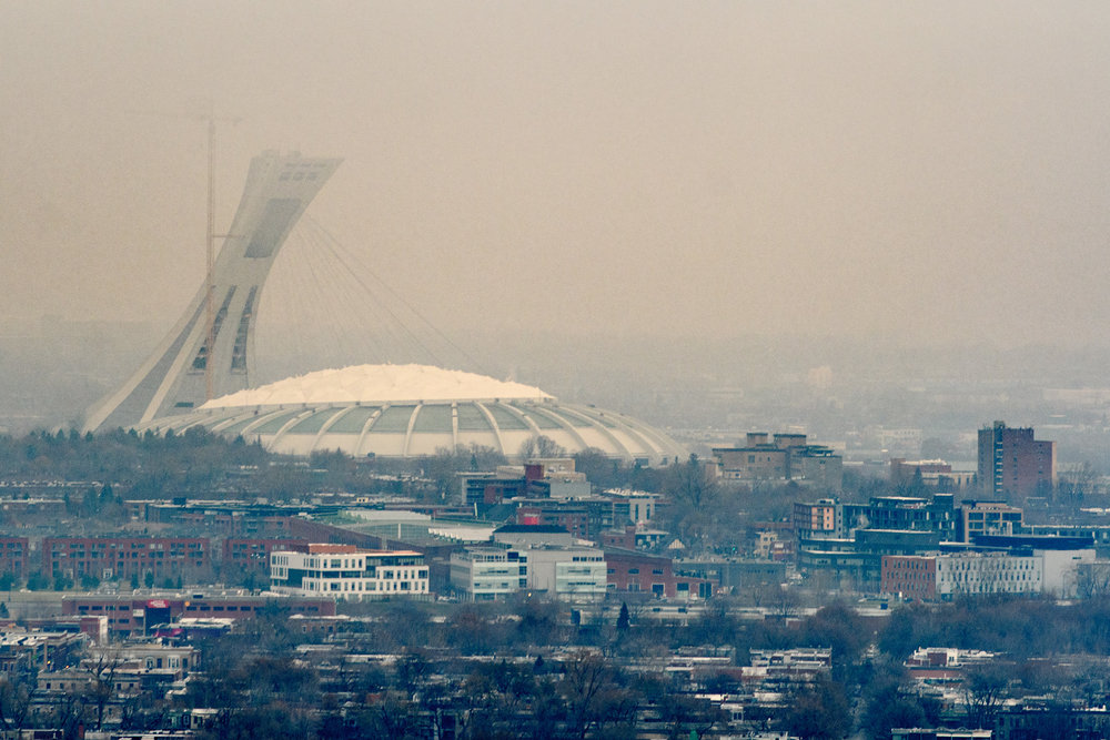 A view to Olympic Park...