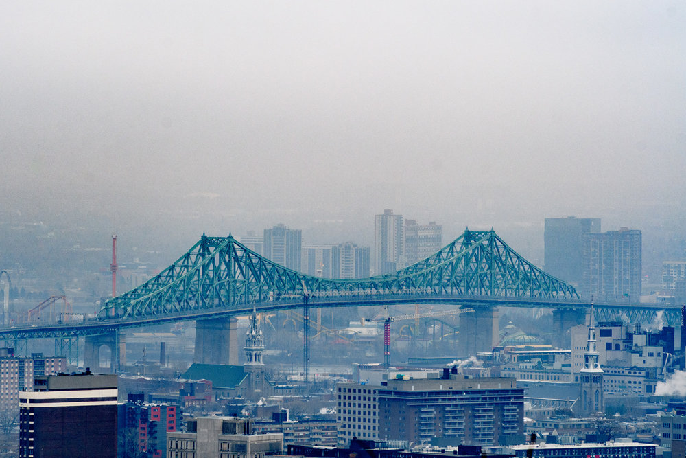 ...and jacques Cartier bridge