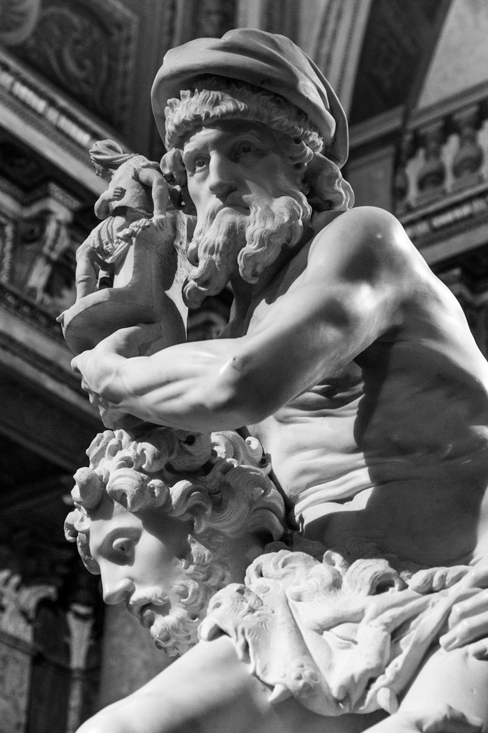 detail of Aenas Bernini 1620