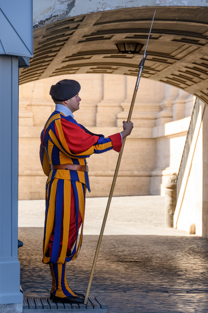"The Swiss Guard, the ""army"" of the Vatican"
