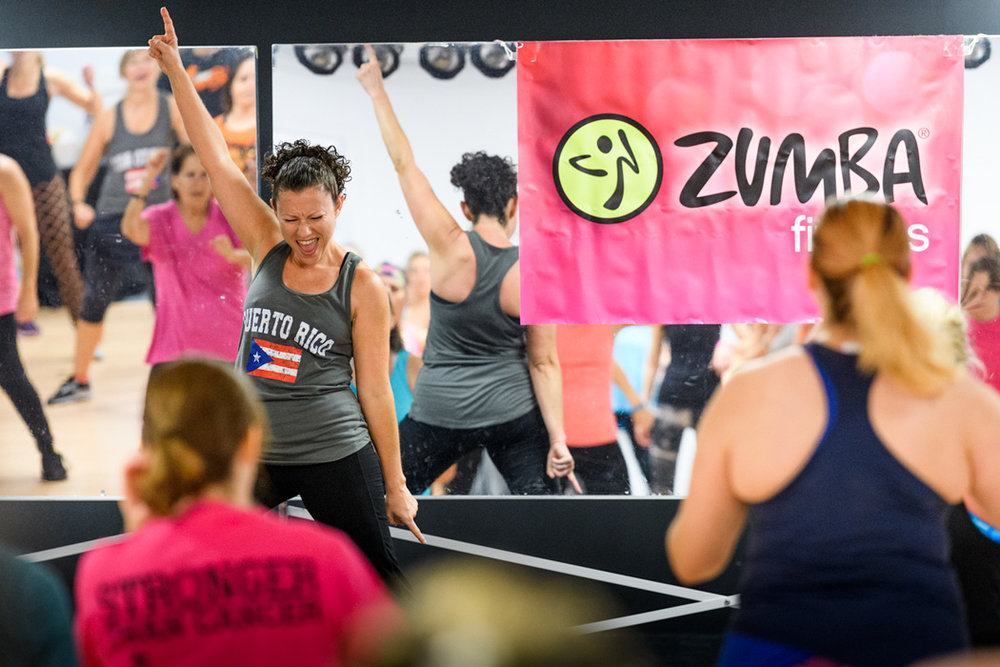 This Zumba class was held by Zumba with Judy http://zumbawithjudy.com/ and raised over $2000 for hurricane relief in Puerto Rico!