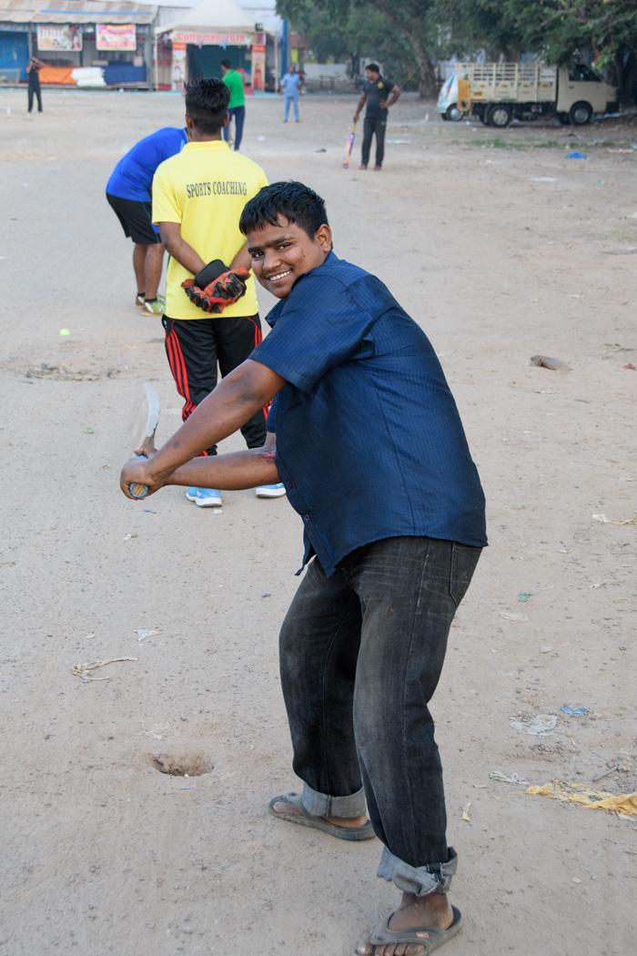 Sandlot batsman