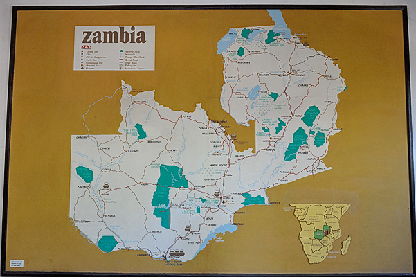 Zambia is just one country in southern Africa, it's well known for being the location (along with Zimbabwe) of Victoria Falls (known in local language as Mosi oa Tunya)