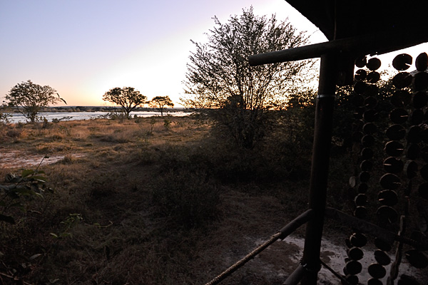 The Zambezi River from Toka Leya Camp