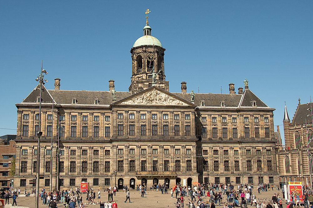 Royal Palace in Dam Square