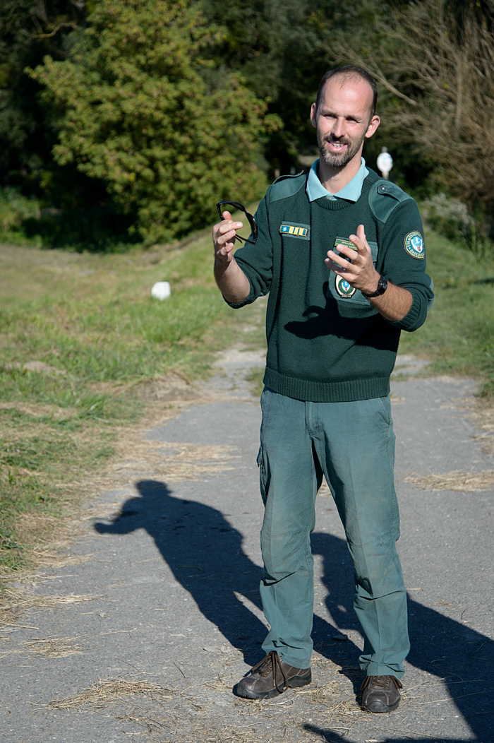 A Park Ranger shares his passion for conservation in Danube Drava National Park in Mohacs Hungary