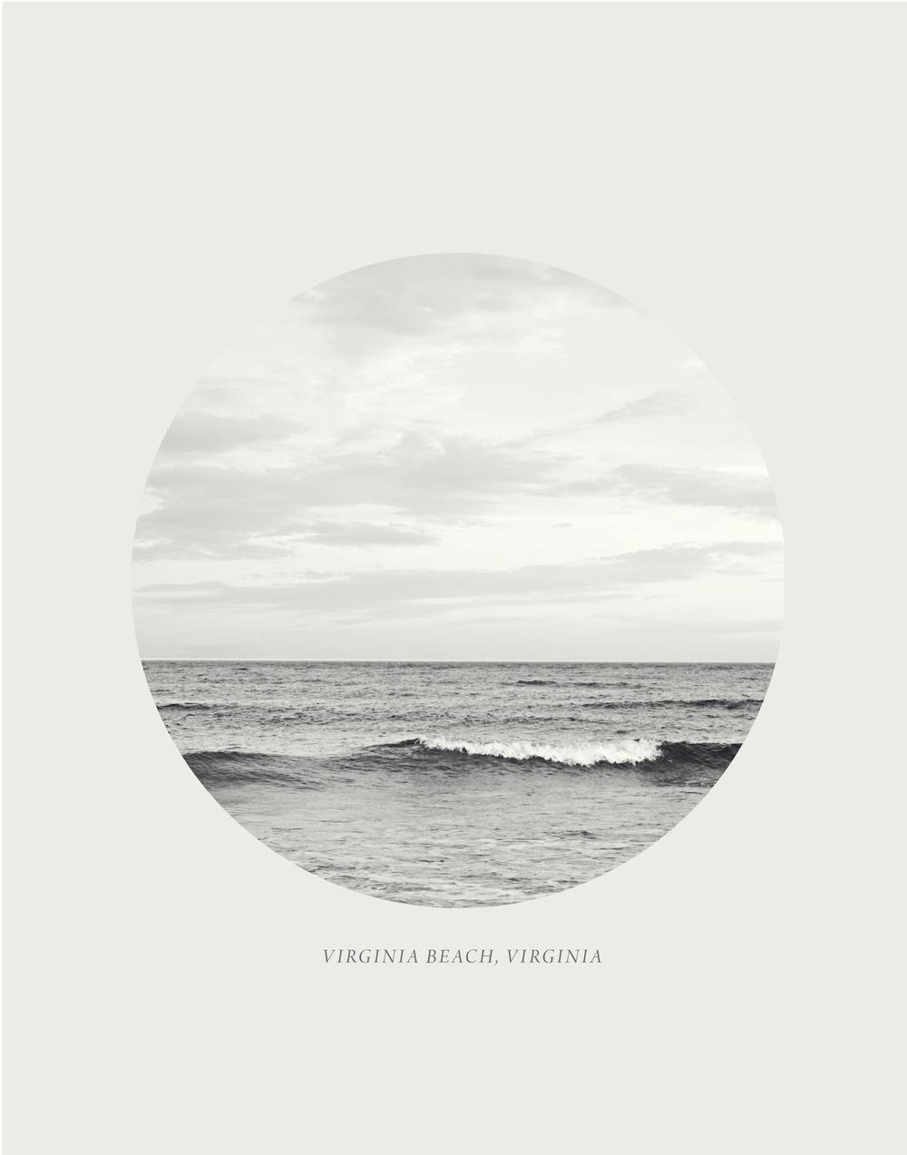virginia beach print
