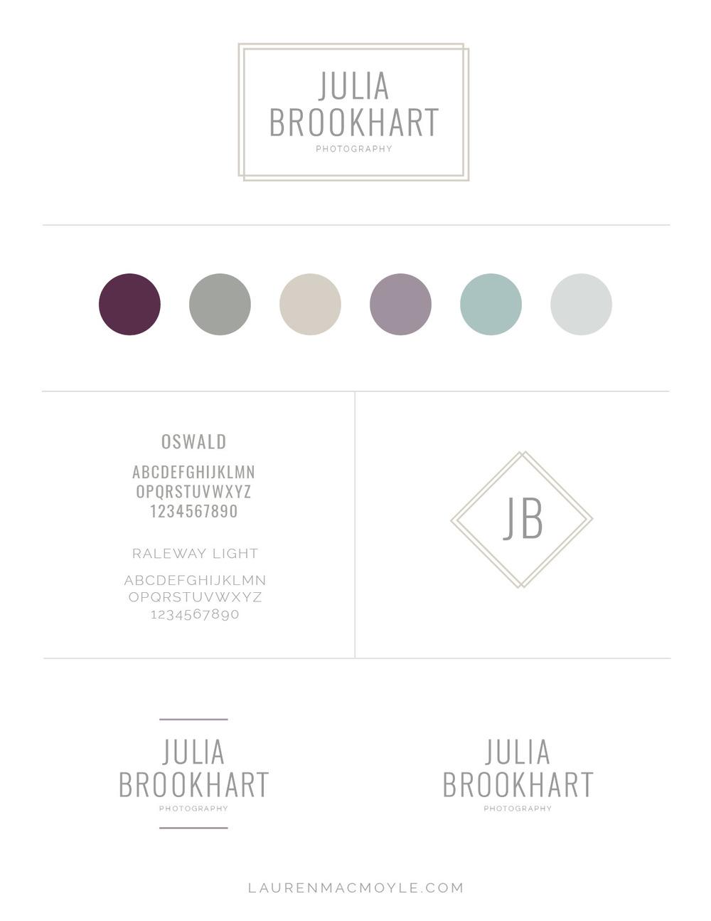 Studio Photography Branding Design   Lauren MacMoyle   Graphic Design