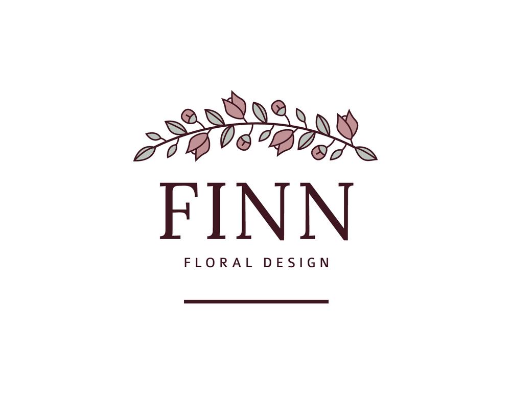 Finn Floral Design Branding