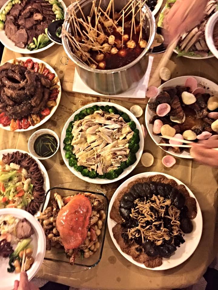 risa xu engagement chinese food