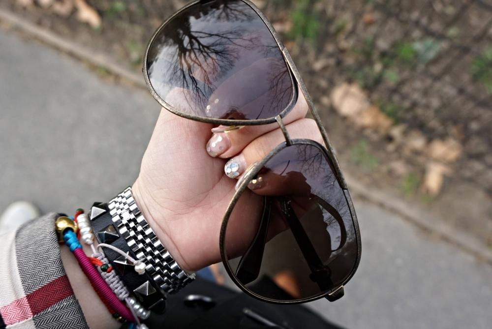 risa xu alexander mcqueen sunglasses
