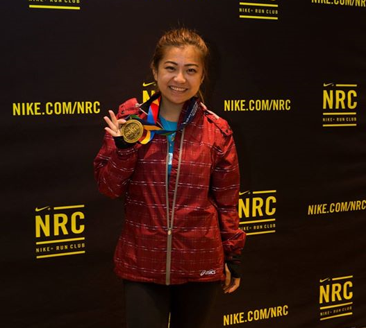 risa xu about fitness new york marathon