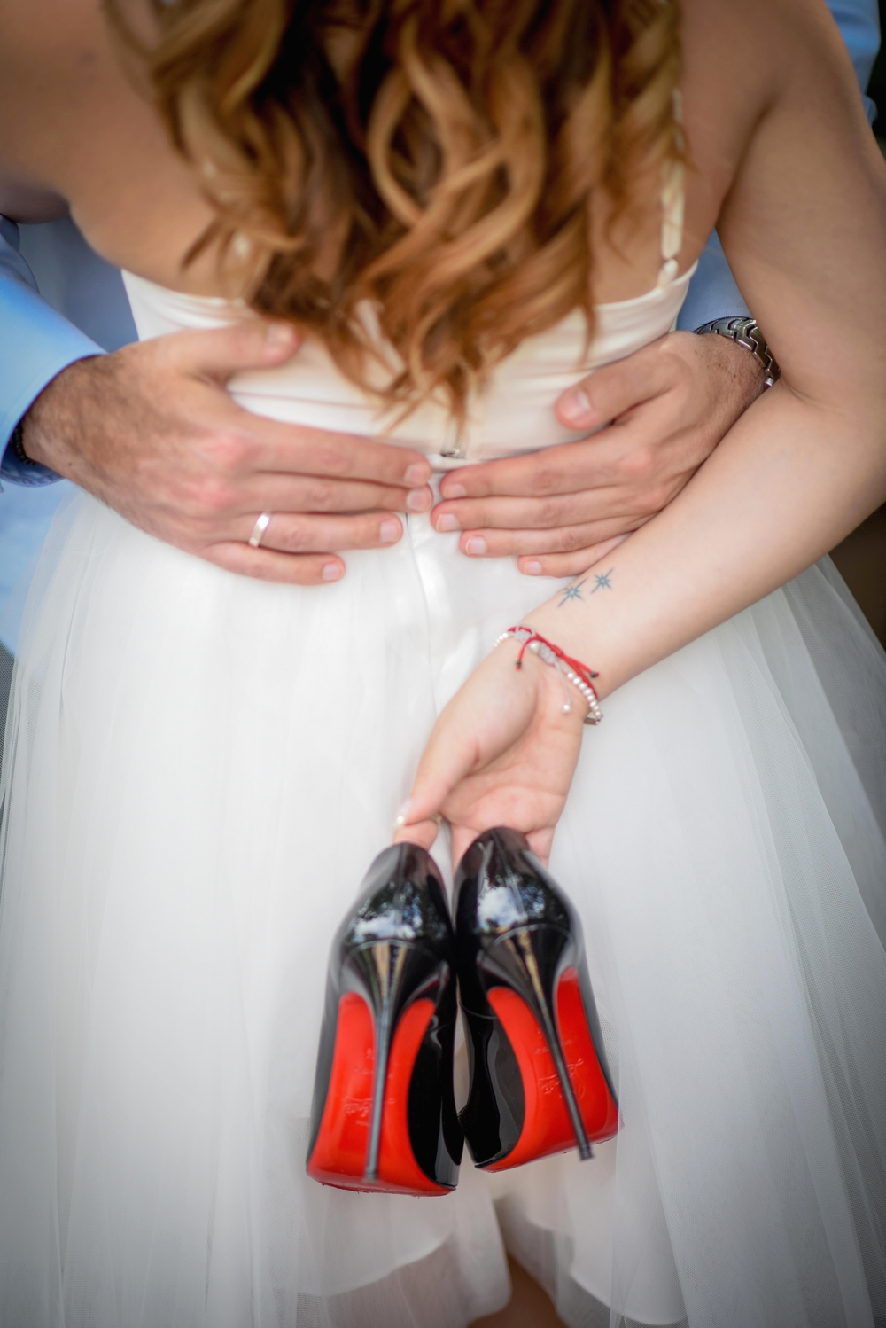 risa xu engagement shoot disney tattoo so kate louboutin